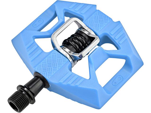 Crankbrothers Double Shot 1 Pedalen, blauw/zwart